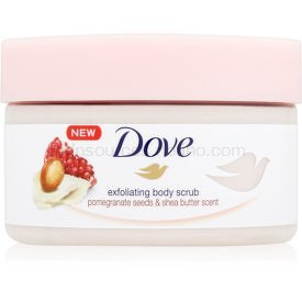 d2440a54f0 Dove Exfoliating Body Scrub Pomegranate Seeds   Shea Butter ošetrujúci telový  peeling 225 ml