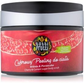 Farmona Tutti Frutti Cherry & Currant cukrový peeling na telo  300 g