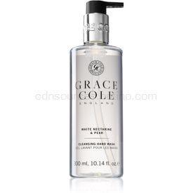 Grace Cole White Nectarine & Pear jemné tekuté mydlo na ruky 300 ml