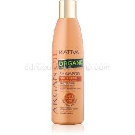 KATIVA Argan Oil ochranný šampón na lesk a hebkosť vlasov  250 ml