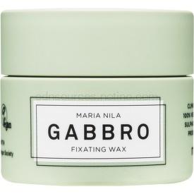 Maria Nila Minerals Gabbro rýchloschnúci tvarujúci vosk pre krátke účesy  50 ml