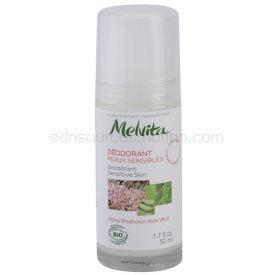 Melvita Les Essentiels dezodorant roll-on bez obsahu hliníka pre citlivú pokožku  50 ml