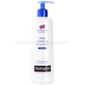Neutrogena Norwegian Formula® Deep Moisture hĺbkovo hydratačné telové mlieko pre suchú pokožku  250 ml