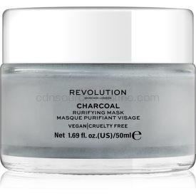 Revolution Skincare Charcoal čistiaca pleťová maska 50 ml