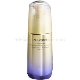 Shiseido Vital Perfection Uplifting & Firming Day Emulsion liftingová emulzia SPF 30 75 ml