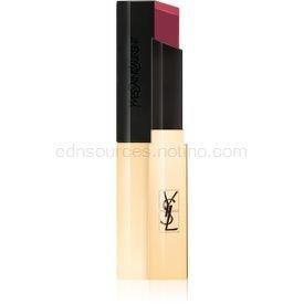 Yves Saint Laurent Rouge Pur Couture The Slim tenký zmatňujúci rúž s koženým efektom odtieň 16 Rosewood Oddity 2,2 g