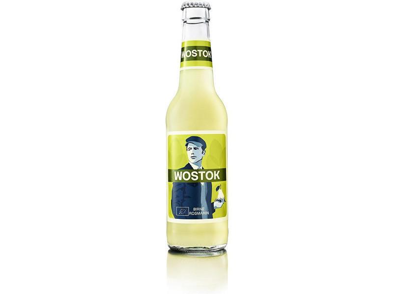 WOSTOK Limonáda Bio WOSTOK hruška a rozmarín 0,33l