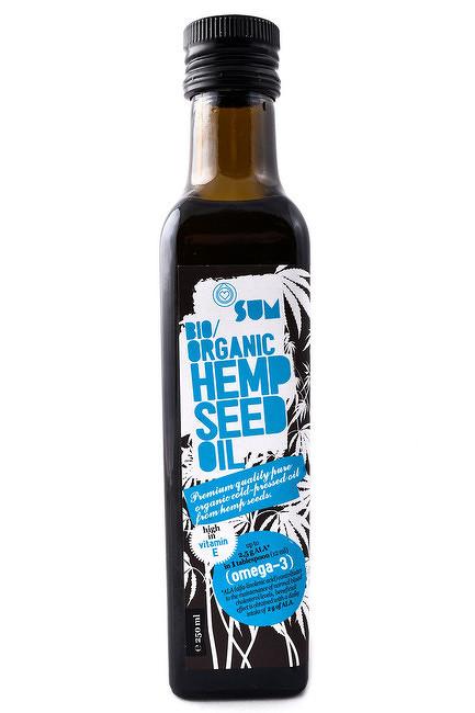 Konopný olej BIO 250 ml- SUM