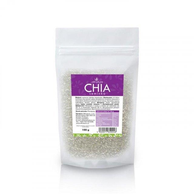 Allnature Chia semienka 1x100 g
