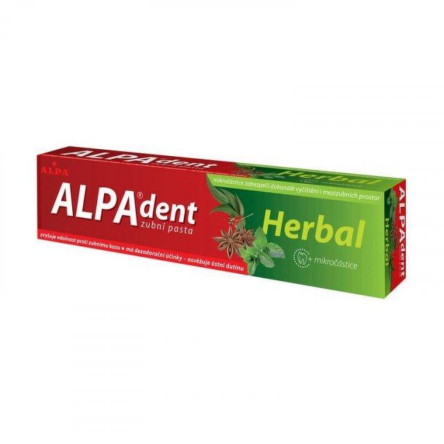 ALPA DENT HERBAL zubná pasta, 1x90 g