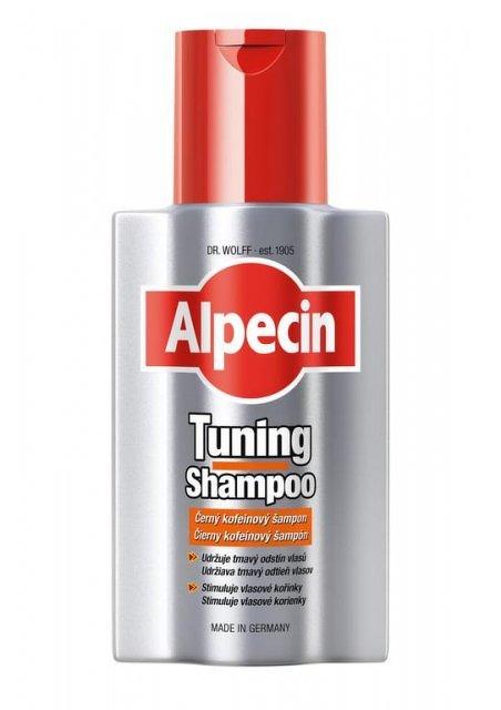 Alpecin Tuning Shampoo tónovací šampón na prvé šedivé vlasy 200 ml