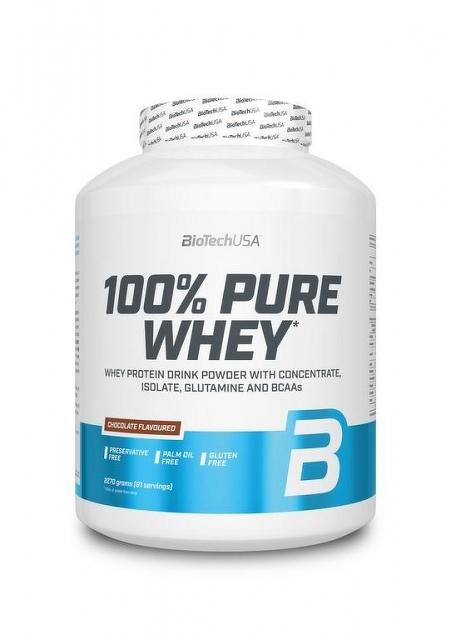BioTech USA 100% Pure Whey 2270g, čokoláda