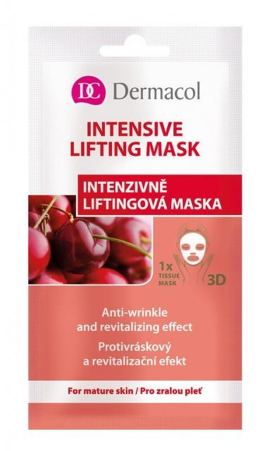 DERMACOL Textilná Intenzívne liftingová maska 15 ml