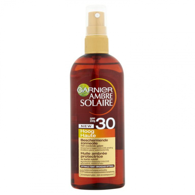 Garnier Ambre Solaire Olej G.touch OF30 150 ml