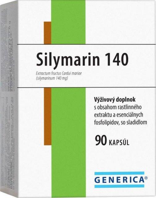 GENERICA Silymarin 140 90 kapsúl