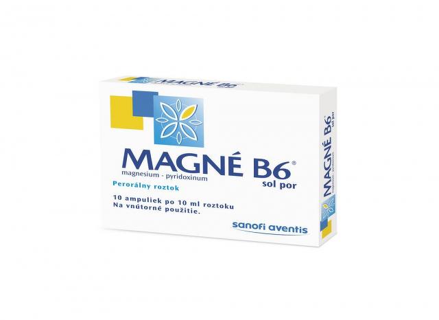 Magne-B6 sol.por. sol.por.10x10ml