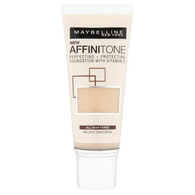 MAYBELLINE AFFINITONE make-up 03 LIGHT SAND BEIGE 1x30 ml