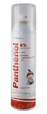 MedPharma PANTHENOL 6% BABY SPREJ Sensitive, 1x150 ml