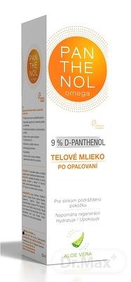 PANTHENOL Omega 9% ALOE VERA telové mlieko po opaľovaní 1x250 ml