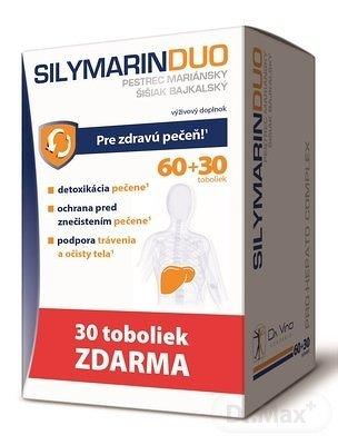 SILYMARIN DUO - DA VINCI cps 60+30 (90 ks)