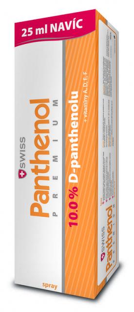 SWISS Panthenol PREMIUM spray (s aloe) 150+25 ml (175 ml)