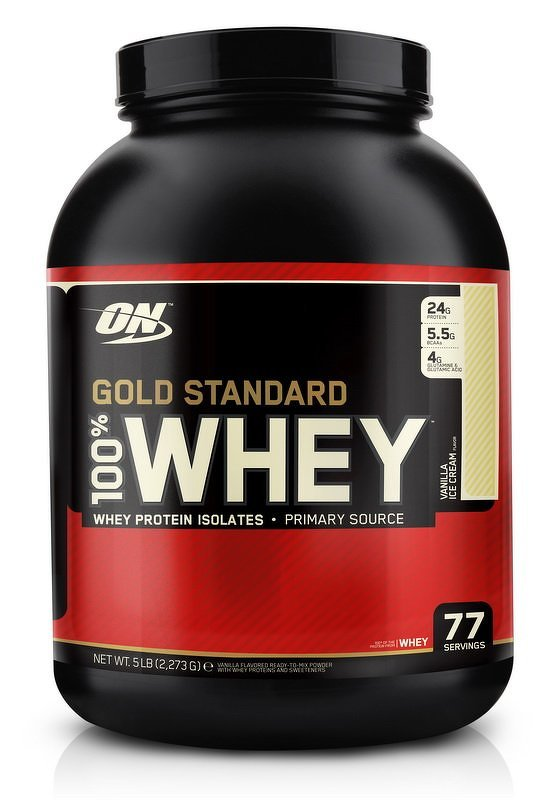 100% Whey Gold Standard Protein - Optimum Nutrition 450 g Delicious Strawberry