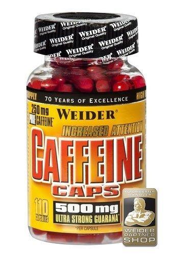 Caffeine Caps - Weider 110 kaps.