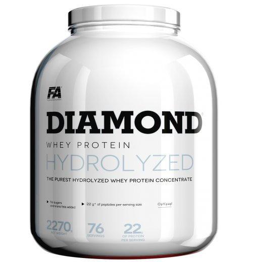 Diamond Hydrolysed Whey Protein od Fitness Authority 2270 g Strawberry