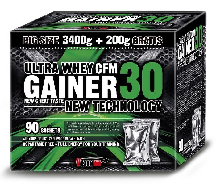 Gainer 30 od Vision Nutrition 920 g Mix
