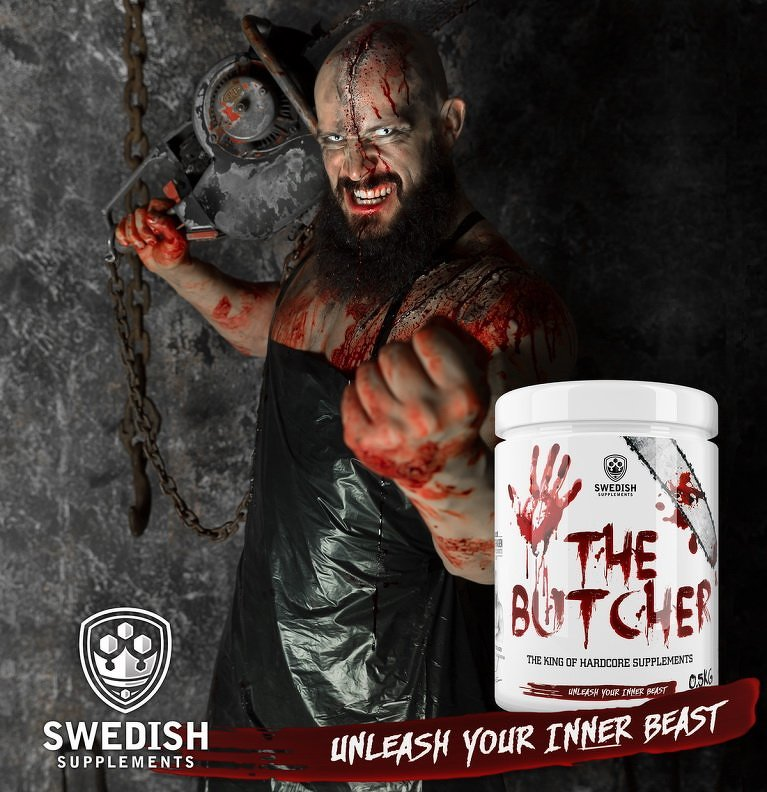 The Butcher - Swedish Supplements 525 g Frenzy Lime Coke