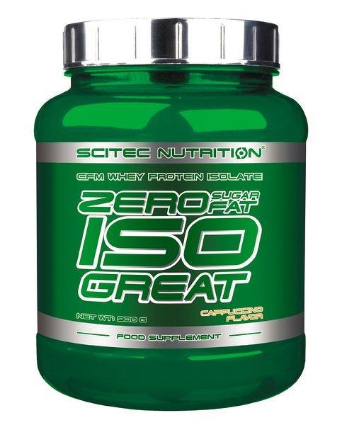 Zero ISO Great - Scitec Nutrition 900 g Malina