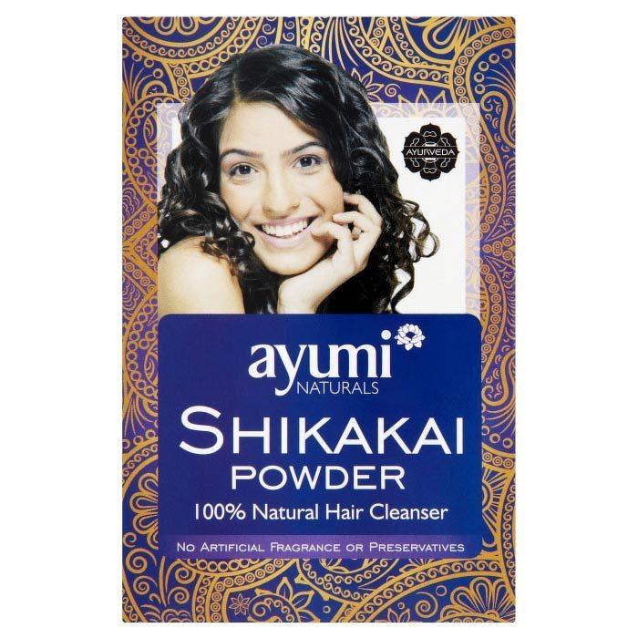 Ayumi naturals Shikakai Powder 100 g, vlasový zábal a šampón