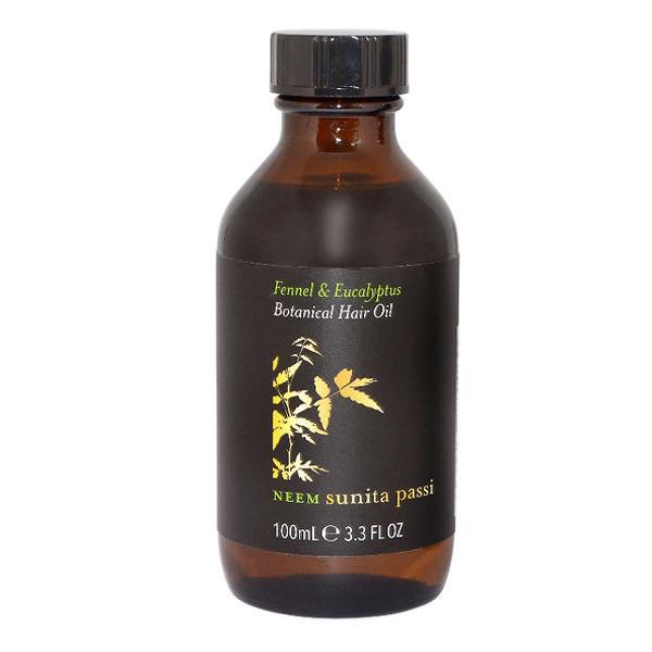 Neem Sunita Passi Nimbový bylinný vlasový olej 100ml  0d7fd336721