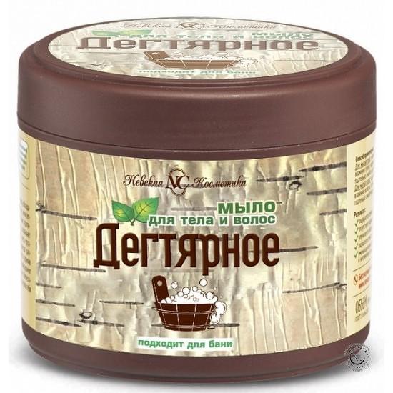 Nevska kozmetika Nevská kozmetika - Husté mydlo s brezovým dechtom na telo a vlasy - 300ml