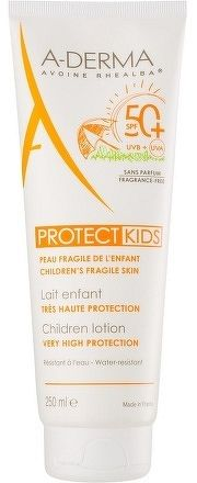 A-DERMA PROTECT KIDS LAIT SPF50+ mlieko pre deti 1x250 ml