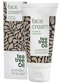 ABC Tea Tree Oil FACE CREAM - Pleťový krém hydratačný + Tasmánske korenie 1x50 ml