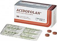 ACIDOFOLAN tbl 1x50 ks