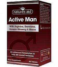 ACTIVE MAN - arginín, Kórejský ženšen, Maca, Damiána, Zinok
