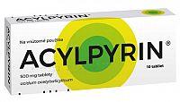 ACYLPYRIN tbl 500 mg 1x10 ks