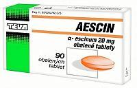 AESCIN tbl obd 20 mg 1x90 ks