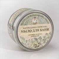 Agafia Čierne sprchovacie mydlo z 37 bylín 1x500 ml