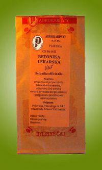 AGROKARPATY BETONIKA LEKÁRSKA bylinný čaj 1x30 g