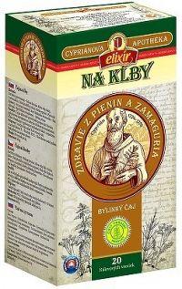 AGROKARPATY CYPRIÁN NA KĹBY bylinný čaj čistý prírodný produkt 20x2 g