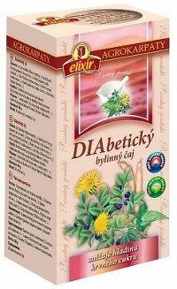 AGROKARPATY DIABETICKÝ ČAJ čistý prírodný produkt 20x2 g