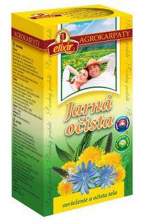 AGROKARPATY Jarná očista bylinný čaj čistý prírodný produkt 20x2 g