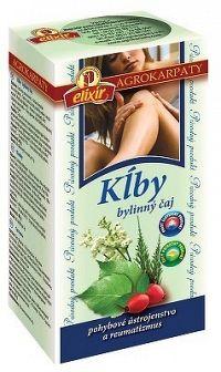 AGROKARPATY KĹBY bylinný čaj čistý prírodný produkt 20x2 g