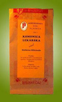 AGROKARPATY KOMONICA LEKÁRSKA vňať bylinný čaj 1x30 g