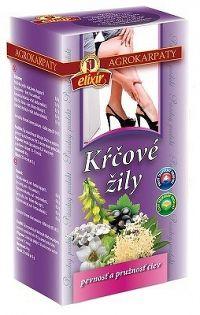 AGROKARPATY KŔČOVÉ ŽILY bylinný čaj čistý prírodný produkt 20x2 g