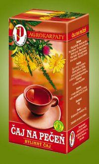 AGROKARPATY PEČEŇ a žlčník bylinný čaj čistý prírodný produkt 20x2 g