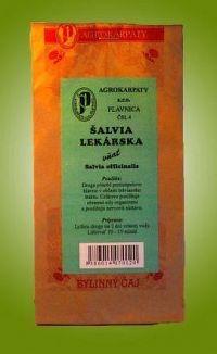 AGROKARPATY ŠALVIA LEKÁRSKA bylinný čaj 1x30 g